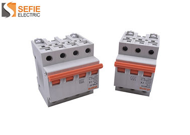 Good Quality Electrical Safety Circuit Breakers & Overload Miniature Current Circuit Breaker B / C / D Tripping Curve on sale