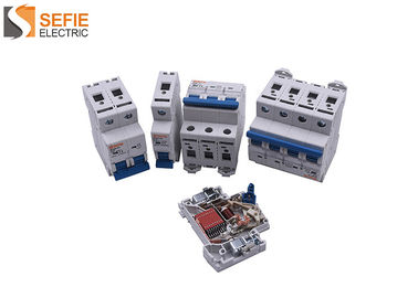 Good Quality Electrical Safety Circuit Breakers & MCB Red Copper Automatic Circuit Breaker 50/60 Hz 1P / 2P / 3P / 4P on sale