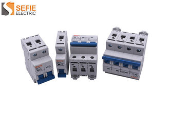 Good Quality Electrical Safety Circuit Breakers & Single Pole Mini Circuit Breaker 400 Volt  Trip Curve Circuit Breaker  3 Energy Limiting Class on sale