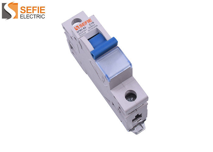 1P Mini Circuit Breaker / Mcb Rcd Circuit Breaker 415 Volt State - Of - Art Design