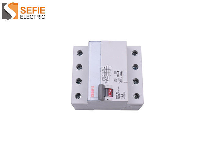 10kA Rcb Electromagnetic Circuit Breaker  / 4 Pole Circuit Breaker 50 /60 Hz