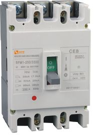 Type C Moulded Case Circuit Breaker / Three Pole Circuit Breaker  High Breaking Capacity
