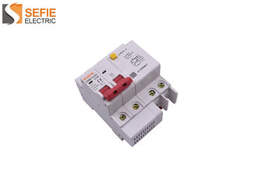 3 Pole 220v Residual Current Circuit Breaker with Overcurrent Protection