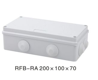 Weatherproof Outdoor Electrical Junction Box IP65 Exterior Cable Junction Box